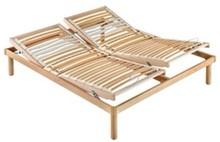 Podwójny stelaż pod materac/ łóżko w całości wykonane z drewna, ruchomy- obsługiwany manualnie.<br />Rama, nóżki oraz...