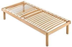 łóżko 200x8090 Stelaż Pod Materac W Całości Drewniane Cienkie Listwy Produkt Włoski