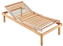 Stelaż pod materac/ łóżko w całości wykonane z drewna. Stelaż jest ruchomy, obsługiwany manualnie.<br />Rama, nóżki oraz podstawa z...