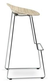 Nowoczesny designerski hoker STELLA włoskiej firmy PLANK, to prawdziwe arcydzieło designu. Siedzisko wykonane z jednej części drewna, naturalnie...