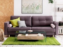 Sofa rozkładana z pojemnikiem MALAVI