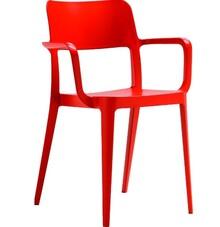 Krzsło NENE PP z podłokietnikiem, wykonane w całości z masy plastycznej polipropilene, dostępnej w kliku kolorach.<br />Krzesło to, może być...