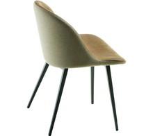 Krzesło SONNY S-Q z podstawą metalową. Nóżki podstawy mają kształt kwadratowy i mogą być malowane w trzech kolorach - biały, grafitowy lub...