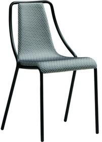 Krzesło OLA S TS, podstawa została wykonana ze stali nierdzewnej, lakierowanej w dwóch kolorach - czarny lub biały.<br />Siedzisko i oparcie...