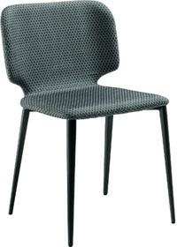 Krzesło WRAP S - z siedziskiem i oparciem tapicerowanym w eko skóry, tkaniny lub skóry miękkie. Stelaż tego krzesła jest metalowy, malowany w...