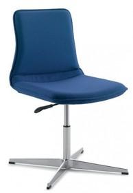 INCA IC211 to krzesło konferencyjne. Krzesło jest tapicerowane, nie posiada podłokietników. Krzesło jest obrotowe. Podstawa to czteroramienny...