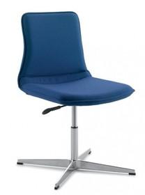 INCA IC212 to krzesło konferencyjne. Krzesło jest tapicerowane, posiada podłokietniki. Krzesło jest obrotowe. Podstawa to czteroramienny krzyżak, tzw....