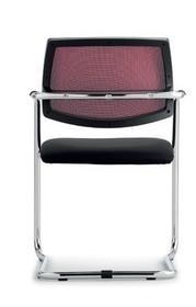 MAGIX MA301C to krzesło konferencyjne posiadające chromowaną ramę. Krzesło posiada podłokietniki oraz podstawę w typie płozy, które są częścią...