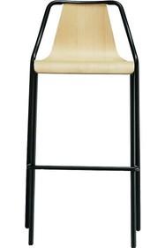Hoker OLA H65 cm lub H75 cm TS - siedzisko i oparcie tapicerowane w wysokiej jakości tkaniny, eko skóry lub skóry.<br />Stelaż został...