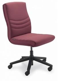 Alfa AF002D to fotel pracowniczy. Wyposażony w niższe oparcie i nie posiada podłokietników. Podstawa to krzyżak z czarnego nylonu, posiadająca...