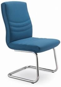 Alfa AF004N to fotel konferencyjny. Wyposażony w niższe oparcie, nie posiada podłokietników. Podstawa to czarne, lakierowane płozy. Fotel stabilny,...