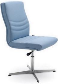 Alfa AF005D to fotel konferencyjny. Wyposażony w niższe oparcie, nie posiada podłokietników. Podstawa to lakierowana, aluminiowa tzw. kurza...