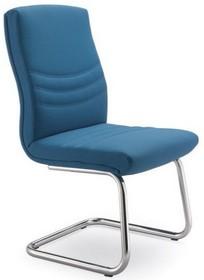Alfa AF014 to fotel konferencyjny. Wyposażony w niższe oparcie oraz lakierowany, stalowy stelaż. Nie posiada podłokietników. Podstawa to płozy...
