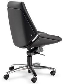 CINQUANTA CQ002D to fotel pracowniczy. Wyposażony w niskie oparcie. Podstawa to pięcioramienny aluminiowy krzyżak wyposażony w nylonowe kółka Ø50 mm z...