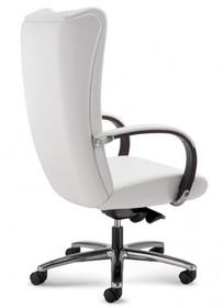 KIRIA KI171 to fotel gabinetowy. Wyposażony w wysokie oparcie. Posiada drewniane podłokietniki, które są tapicerowane z wierzchu. Podstawa to...