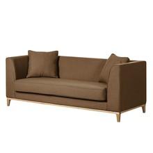 Sofa nowoczesna 3-osobowa LILY - brązowy