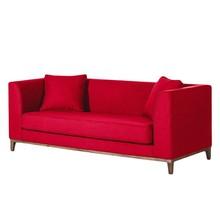 Sofa nowoczesna 3-osobowa LILY - czerwony