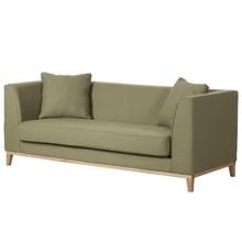Sofa nowoczesna 3-osobowa LILY - oliwkowy