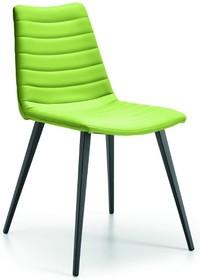 COVER S Q jest to kolejne włoskie krzesło z serii krzeseł i foteli COVER. Krzesło jest znakomity elementem uzupełniającym wnętrze Twojego domu, biura...