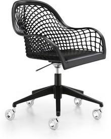 GUAPA DPB to kolejny włoski fotel biurowy z szerokiej serii foteli i krzeseł Guapa. Fotel ten został pokazany na targach w Mediolanie. Posiada ponadto...