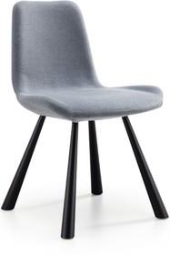 Krzesło FOREST posiada metalową podstawę, natomiast siedzisko i oparcie są tapicerowane. FOREST występuje w kilku wariantach: jako krzesła, hokery oraz...