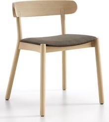 Krzesło MONTERA od MIDJ to mebel jednocześnie klasyczny i nowoczesny.<br />Struktura krzesła wykonana jest z barwionego drewna jesionu, natomiast...