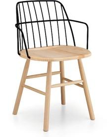 Krzesło z podłokietnikami STRIKE to mebel pochodzący z najważniejszej kolekcji w nowym katalogu MIDJ.<br /><br />Struktura STRIKE...