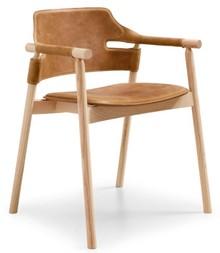 Krzesło z podłokietnikami SUITE MIDJ