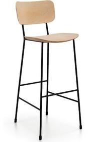 Hoker MASTER jest meblem wyjątkowym, stylowym i eleganckim.<br />Stelaż wykonany jest z wysokiej jakości lakierowanej stali. Oparcie wraz z...