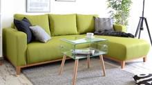 Na zdjęciu tkanina ETNA 35 + drewno dąb naturalny  WYMIARY głębokość: 165 cm szerokość: 229 cm wysokość: 90 cm powierzchnia spania: 195 x140...