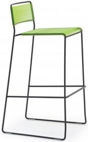 Hoker nowoczesny LOG SPAGHETTI ST.<br />Stelaż wykonany jest z lakierowanego metalu. siedzisko i oparcie jest wykonane z oryginalnych rurek PVC.<br...
