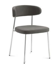Krzesło ANAIS-M pochodzące z kolekcji znanej na całym świecie firmy meblowej Domitalia. Krzesło posiada stalową ramę oraz tapicerowane oparcie i...