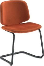Krzesło STYLE-SR pochodzące z kolekcji znanej na całym świecie firmy meblowej Domitalia.  Krzesło posiada stalową ramę z płozami oraz...