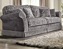 Elegancka, klasyczna i stylowa sofa trzyosobowa TREVISO.<br />Sofę można kupić w czterech możliwych kombinacjach: z dwoma bokami, z jednym bokiem po...