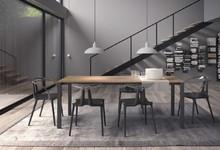 Rozkładany stół WATSON z metalową podstawą jest najnowszym produktem pochodzącym z katalogu MADRASSI.<br />Jest to mebel dla każdego fana...
