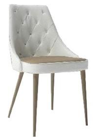 Tapicerowane krzesło KELLY CAPITONNE pochodzi z najnowszego katalogu włoskiej firmy MADRASSI.<br />Krzesło występuje w dwóch wersjach:...