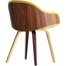 Fotel z niskim podłokietnikiem DANNY PB NY z drewniną podstawą, dostępną w 4 wybarwieniach. Siedzisko tapicerowane w tkaninę, eko skórę lub skórę...