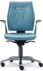 SEDNA SE704 to fotel pracowniczy. Wyposażony w niskie oparcie oraz lakierowane, aluminiowe podłokietniki tapicerowane z wierzchu. Posiada wypełnienie...