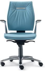 SEDNA SE706 to fotel pracowniczy. Wyposażony w niskie oparcie oraz lakierowane, aluminiowe podłokietniki tapicerowane z wierzchu.<br />Posiada...