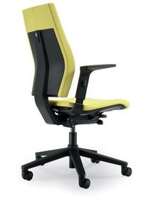 SEDNA S512 to fotel gabinetowy. Wyposażony w wysokie oparcie. Fotel posiada czarne, nylonowe podłokietniki. Podłokietniki są wysokie, dodatkowo posiadają...