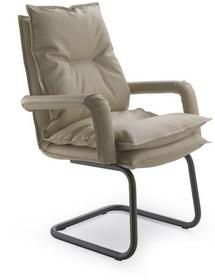 URANIA UR154 to fotel konferencyjny. Wyposażony w niskie oparcie oraz tapicerowane podłokietniki. Podstawa to płozy, występujące w dwóch wariantach....