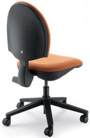 CLICK CK102 to fotel pracowniczy. Posiada niskie, tapicerowane oparcie. Nie posiada podłokietników. Podstawa to pięcioramienny, czarny krzyżak wykonany z...