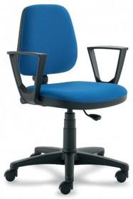 ELEGANCE EG151 jest fotelem pracowniczym. Fotel posiada niskie, tapicerowane oparcie. Postawa to pięcioramienny krzyżak wykonany z czarnego nylonu, który...