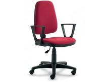 ELEGANCE EG152 jest fotem gabinetowym. Fotel posiada wysokie, tapicerowane oparcie. Postawa to pięcioramienny krzyżak wykonany z czarnego nylonu,...