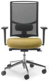 EVO EVO302SD jest fotelem gabinetowym. Fotel posiada wysokie, siatkowane oparcie. Postawa to pięcioramienny krzyżak wykonany z czarnego nylonu, który...