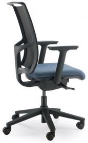 EVO EVO302SDS jest fotelem gabinetowym. Fotel posiada wysokie, siatkowane oparcie. Postawa to pięcioramienny krzyżak wykonany z czarnego nylonu, który...