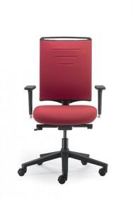 EVO EVO432SD jest fotelem gabinetowym. Fotel posiada wysokie, tapicerowane oparcie. Postawa to pięcioramienny krzyżak wykonany z czarnego nylonu,...