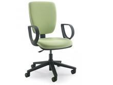 GAMMA GA002N jest fotem gabinetowym. Fotel posiada wysokie, tapicerowane oparcie. Postawa to pięcioramienny krzyżak wykonany z czarnego nylonu, który...
