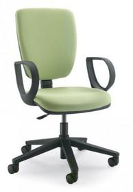 GAMMA GA002N jest fotelem gabinetowym. Fotel posiada wysokie, tapicerowane oparcie. Postawa to pięcioramienny krzyżak wykonany z czarnego nylonu, który...