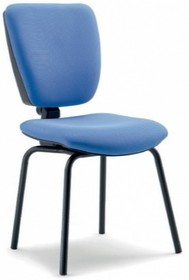 GAMMA GA006N jest fotem konferencyjnym. Fotel posiada niskie, tapicerowane oparcie. Rama fotela jest czarna. Fotel jest czworonożny.<br />Fotel nie...